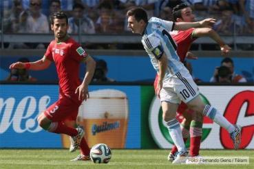 MUNDIAL 2014: Entonces Messi frotó la lámpara