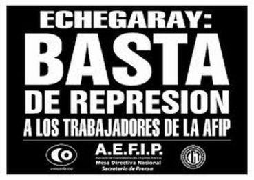 GREMIALES: Trabajadores denuncian penalmente al jefe de AFIP por agresiones