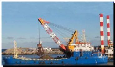 PORTUARIAS: Comienza la etapa final de la obra de dragado del puerto Mar del Plata