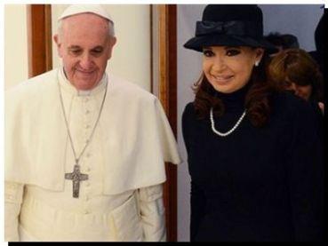 Francisco y la Presidenta almorzarán el 20 de septiembre próximo en el Vaticano