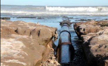 Contaminación en Punta Carballido
