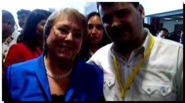 El enviado del Intendente Tellechea en la Cumbre Iberoamericana en México