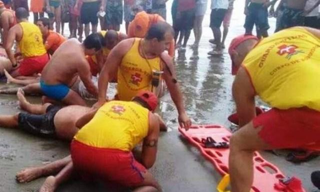 Rayo mata a cuatro nadadores en Río de Janeiro
