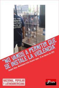 POLÍTICA: Repudio por ataque a local partidario