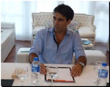 """ELECCIONES 2015: """"A mí nadie me va a llevar por delante"""", dijo el Dr. Facundo López"""