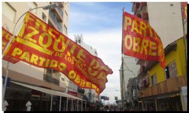 ELECCIONES 2015: El Partido Obrero presenta a sus pre-candidatos en Necochea