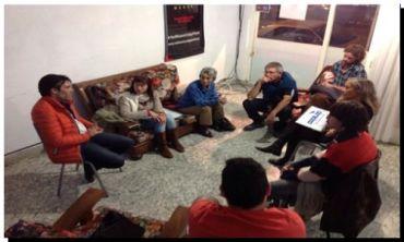NECOCHEA: Vecinos autoconvocados se reunieron con el candidato Facundo López