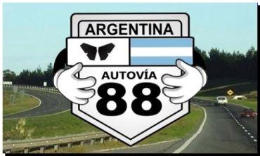 """AUTOVÍA 88: """"Juntos por la vida"""" un reclamo a toda música"""