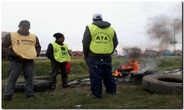 PUERTO QUEQUÉN: Fracasó reunión entre transportistas y acopiadores