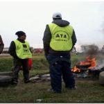 PUERTO QUEQUÉN: Protesta de transportistas