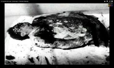 CHILE: Se mostró una foto de Allende acribillado