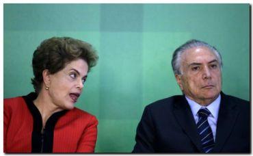 BRASIL: Rousseff acusa de conspirador a su vicepresidente