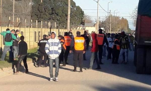 Repudio a represión policial en partido de fútbol en Lobería