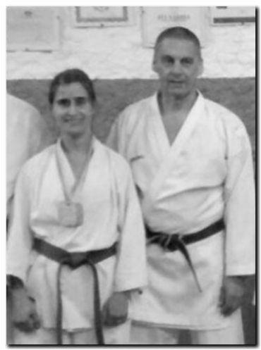 Campeona necochense de karate camino a Tokio 2020