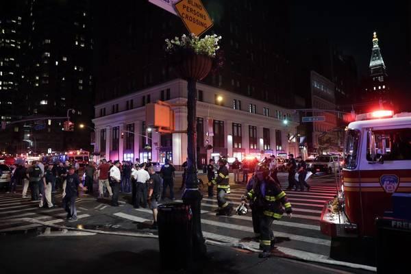 Fuerte explosión en Nueva York, 29 heridos leves