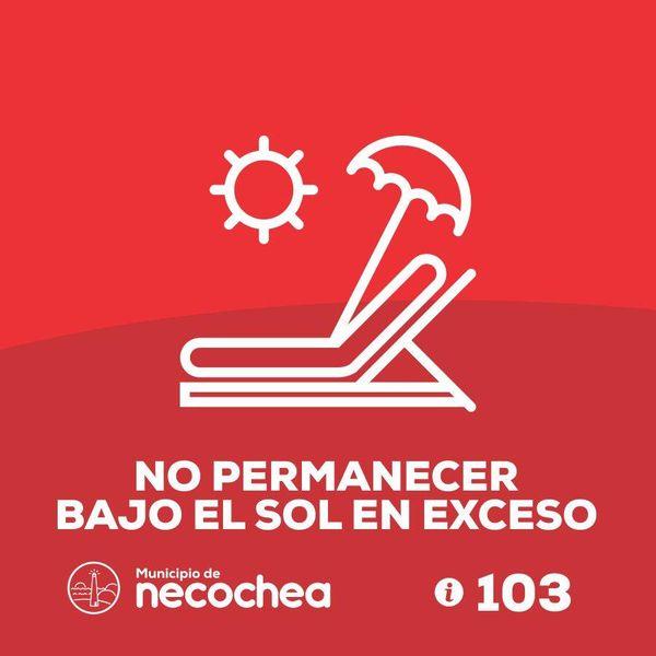 NECOCHEA: Continúan las altas temperaturas