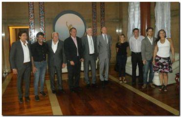 NECOCHEA: Reunión con diplomáticos rusos