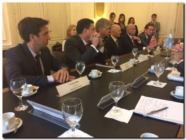 PUERTO QUEQUÉN: Convenio de Cooperación entre Puertos Argentinos y el Consejo de Puertos de la Florida