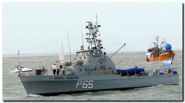 PUERTO QUEQUÉN: Será visitado por una lancha de la Armada Argentina