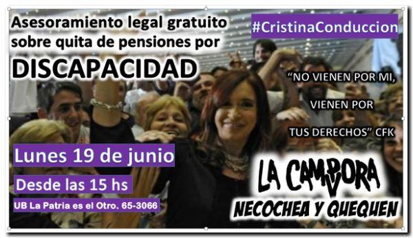 POLÍTICA: Asesoramiento gratuito por pensiones dadas de baja