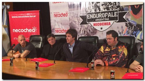 NECOCHEA: Se presentó el Enduropale ante los medios nacionales