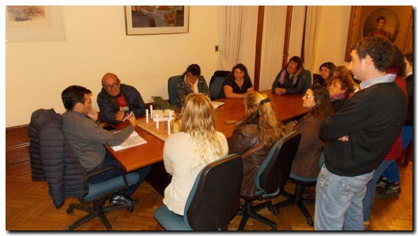 NECOCHEA: López respalda proyecto de emprendedores