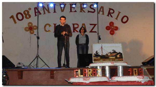 CLARAZ: En el aniversario, López llamó a la unión para seguir avanzando