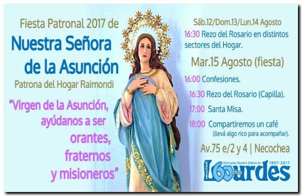 NECOCHEA: Fiesta Patronal de Nuestra Señora de la Asunción