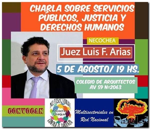 ELECCIONES 2017: Charla debate con el Juez Arias