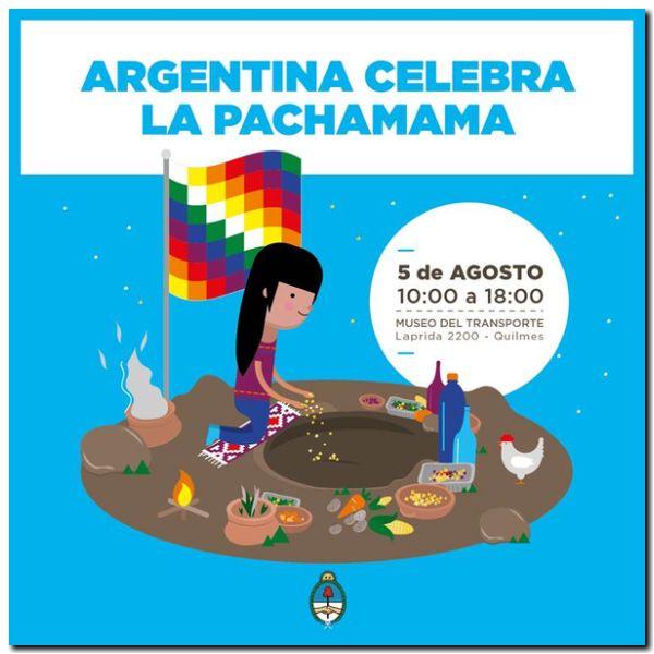ENCUENTRO: Argentina celebra la Pachamama en Quilmes