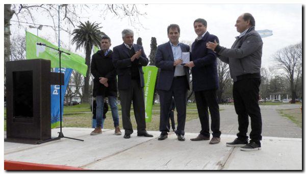 """NECOCHEA: """"Esto responde a un compromiso en conjunto entre el municipio y la provincia"""""""