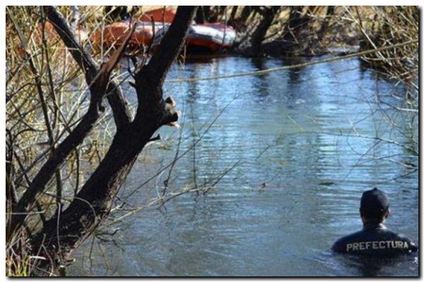 MALDONADO: Expectativa por el hallazgo de un cuerpo durante los rastrillajes en el río Chubut