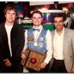 NECOCHEA: López entregó el premio de campeón 5 quillas al cordobés Martinotti
