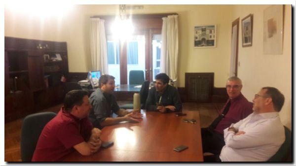 POLÍTICA: Visita del director de deportes bonaerense a Necochea