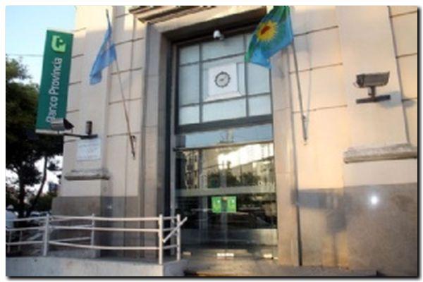 COVID: Banco Provincia del centro sin atención