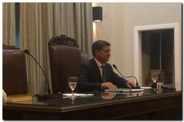 NECOCHEA: Juraron los nuevos concejales. Ernesto Mancino Presidente