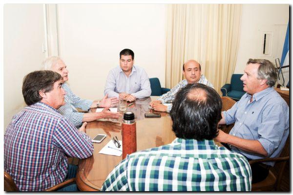 NECOCHEA: Reunión de Gabinete para seguir trazando las políticas del área