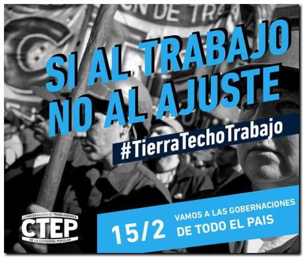 NECOCHEA: Marcha de los Movimientos Populares #Si al trabajo #No al ajuste