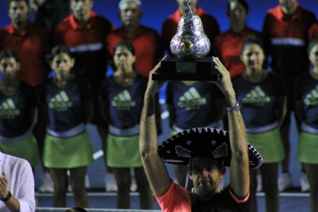 TENIS: Del Potro se quedó con todo en Acapulco