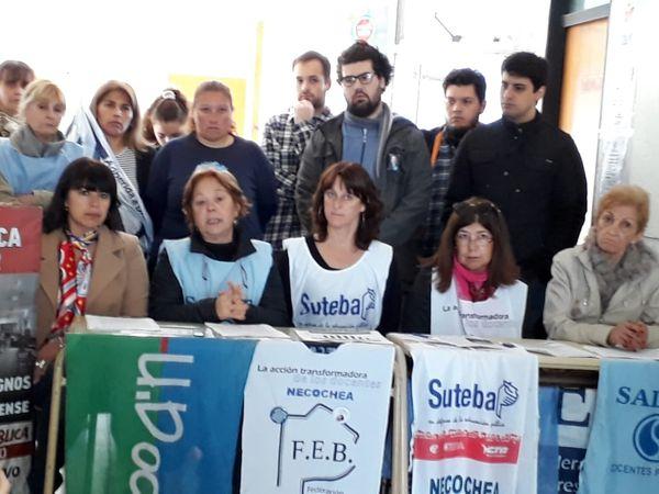 EDUCACIÓN: El FUDB reclama la convocatoria a paritarias