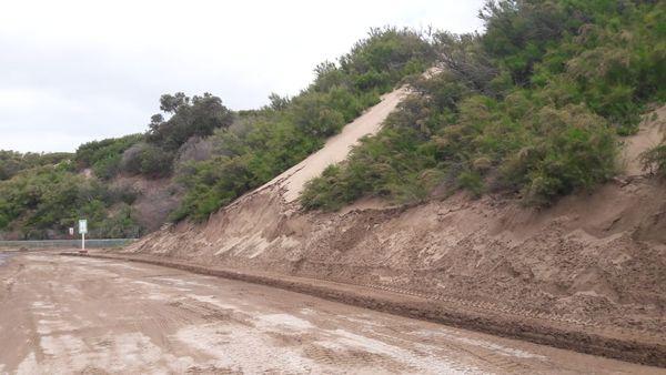 CONSORCIO: Se retiró el agua acumulada en la zona y se dejó en condiciones de transitabilidad