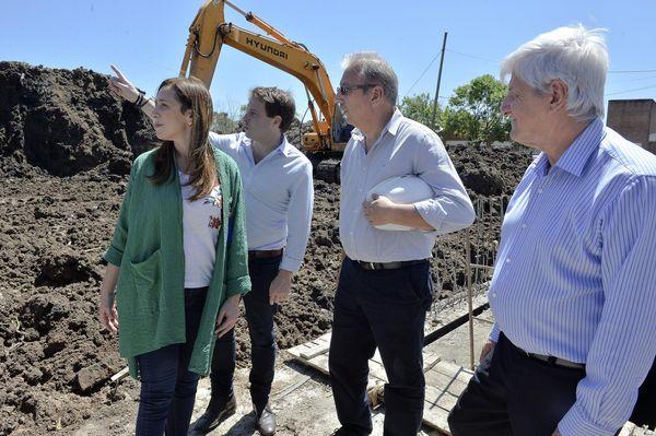 PROVINCIA: La gobernadora Vidal recorrió obras hidráulicas