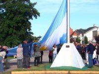 NECOCHEA: Emotivo acto por el 207ª Aniversario de la Creación de la Bandera