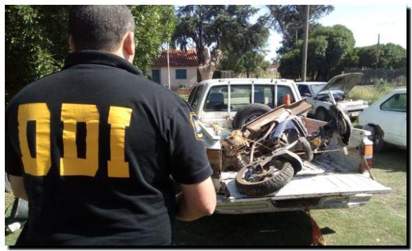 POLICIALES: Allanamiento en Necochea
