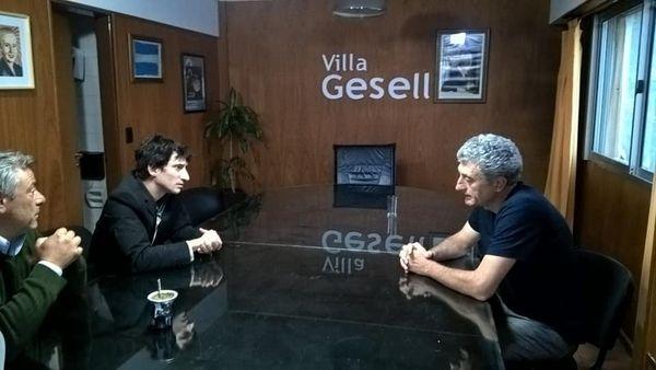 POLÍTICA: Reunión de Barrena con el Intendente de Villa Gessel y Carlos Zannini