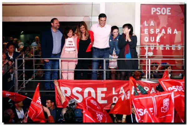 ESPAÑA: Socialista Sánchez gana, debacle del PP