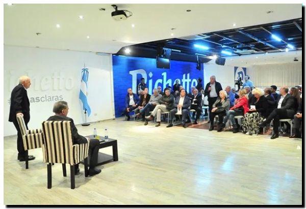 ELECCIONES 2019: Roberto Lavagna y Pichetto se reunieron con dirigentes del PJ