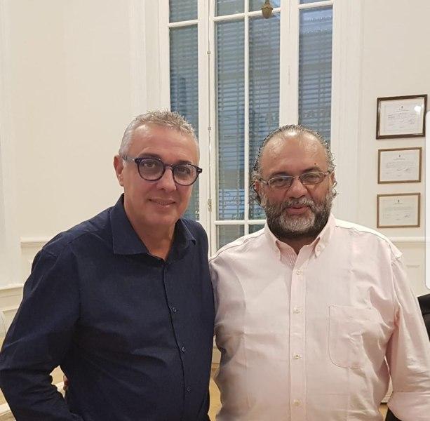 ELECCIONES 2019: Roberto Gómez con Julio Zamora en Tigre