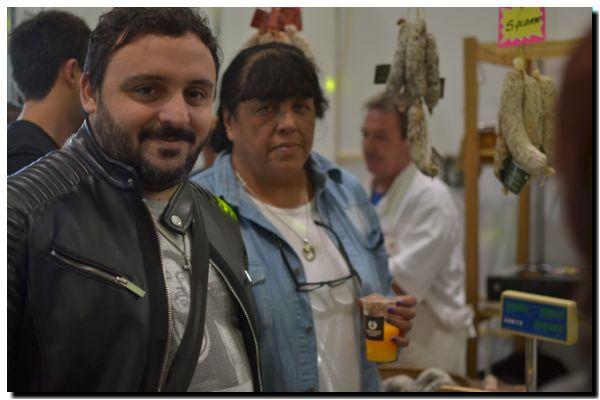 POLÍTICA: Lescano y Aranda recorrieron la NecoEmprende