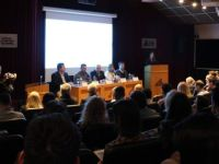 En el V Congreso de Logística, Puertos y Comercio Exterior, López resaltó el rol universitario